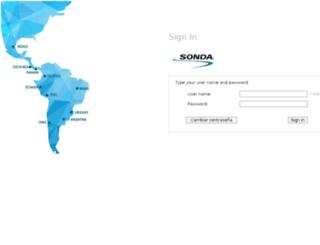 email.sonda.com screenshot