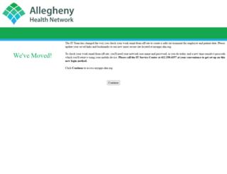 email.wpahs.org screenshot