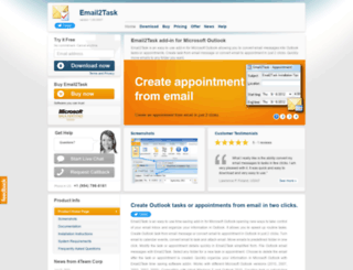 email2task.com screenshot