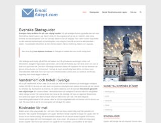 emailadept.com screenshot