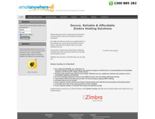 emailanywhere.com.au screenshot