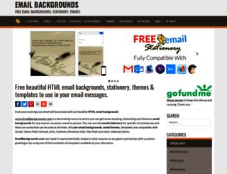 emailbackgrounds.com screenshot
