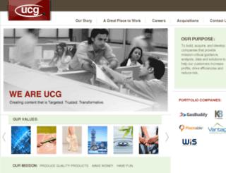 emailcare.ucg.com screenshot