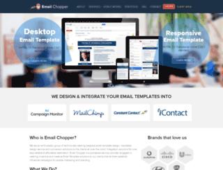 emailchopper.com screenshot