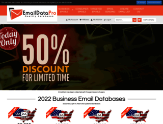 emaildatapro.com screenshot