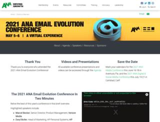 emailevolution.org screenshot
