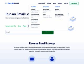 emailfinder.com screenshot