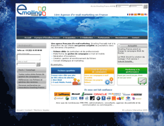 emailingfrance.com screenshot