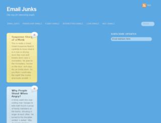 emailjunks.com screenshot