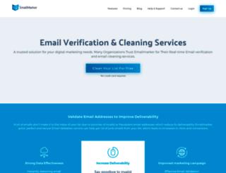 emailmarker.com screenshot