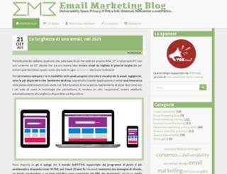 emailmarketingblog.it screenshot