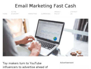 emailmarketingfastcash.com screenshot