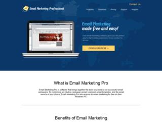 emailmarketingprofessional.com screenshot