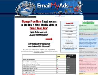emailmyads.com screenshot