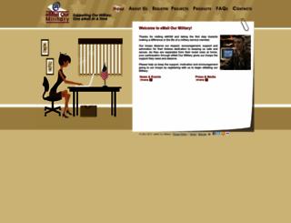 emailourmilitary.com screenshot