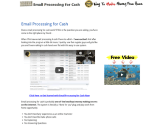 emailprocessingforcash.org screenshot
