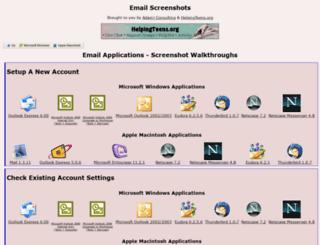 emailscreenshots.com screenshot