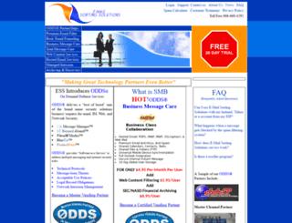 emailsorting.com screenshot