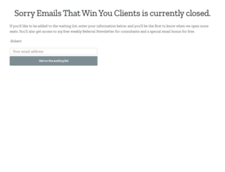 emailsthatwin.com screenshot