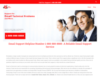 emailtechsupportservices.com screenshot