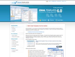 emailtemplates.com screenshot