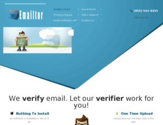 emailtor.com screenshot
