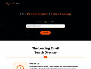 emailtracer.com screenshot
