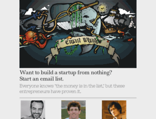 emailwhales.com screenshot