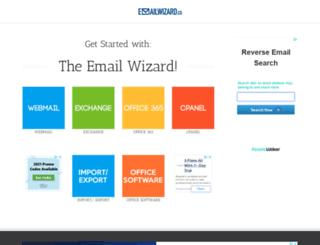 emailwizard.co screenshot