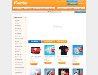 emallnz.co.nz screenshot