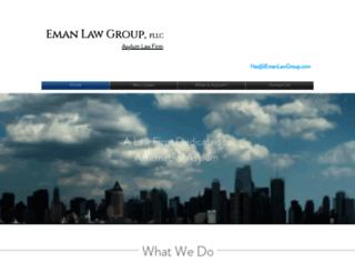 emanlawgroup.com screenshot