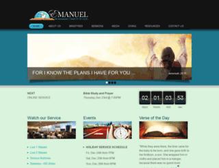 emanuelchurch.com screenshot
