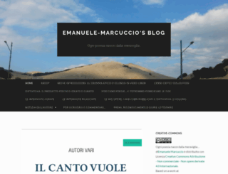 emanuelemarcuccio.wordpress.com screenshot