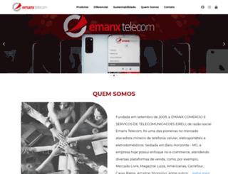 emanxtelecom.com.br screenshot