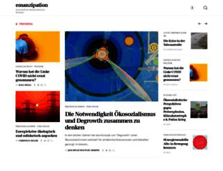 emanzipation.org screenshot