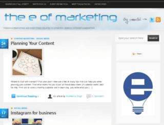 emarketingblog.co.za screenshot