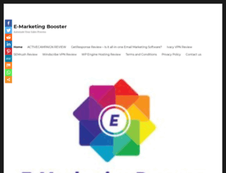 emarketingbooster.com screenshot