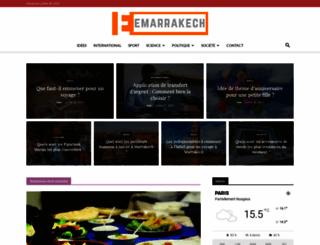 emarrakech.info screenshot