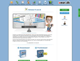 emat.dk screenshot