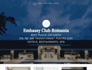 embassy-club.ro screenshot