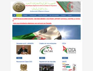 embassyalgeria.ca screenshot