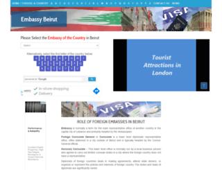 embassybeirut.com screenshot
