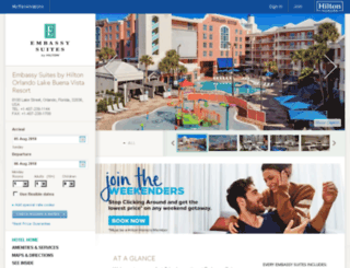 embassysuitesresortorlando.com screenshot