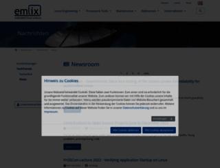 embedded-linux.de screenshot