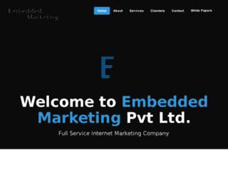 embeddedmarketing.biz screenshot