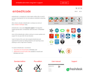 embedxcode.weebly.com screenshot
