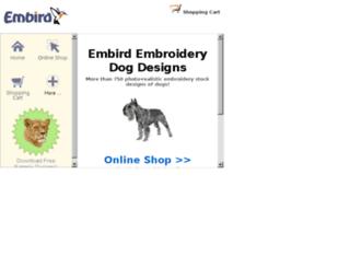 embirddogdesigns.com screenshot