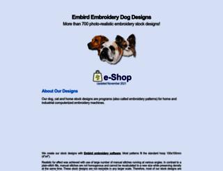 embirddogdesigns.eu screenshot