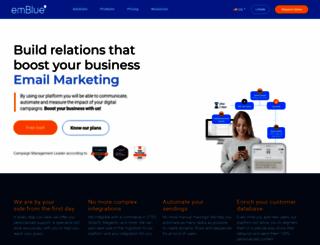 embluemail.com screenshot