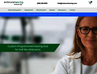 embracehearing.com screenshot